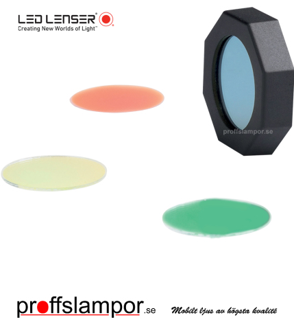 Tillbehör färgfilterset Ledlenser