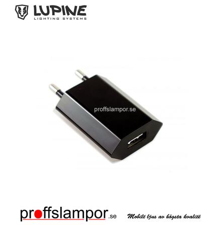 Tillbehör USB adapter