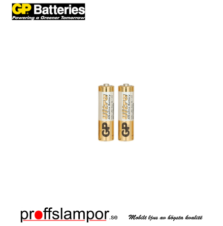 Batteri GP Ultra Alkaline LR6 AA 2 pack