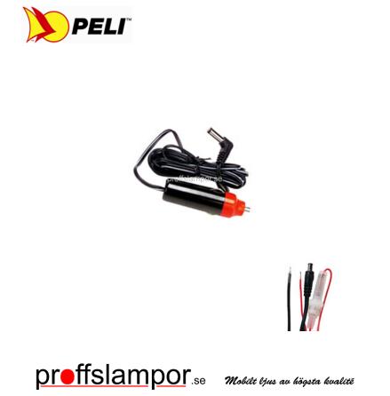 Tillbehör Billaddare Peli 8056F