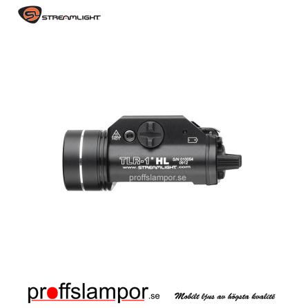 Vapenlampa Streamlight TLR-1 HL