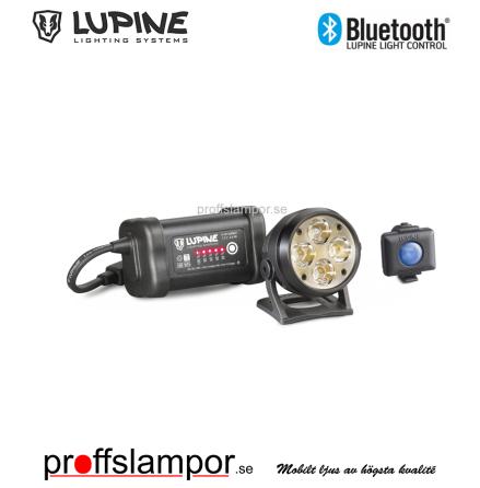 Hjälmlampa Lupine Wilma R 7