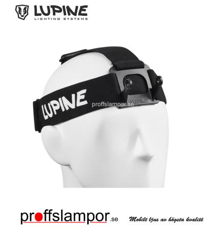 Tillbehör Huvudställning Lupine Wilma/Wilma R