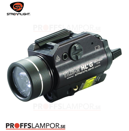 Vapenlampa  Streamlight TLR-2 HL G