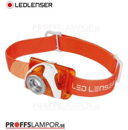 Pannlampa Ledlenser SEO3 Orange