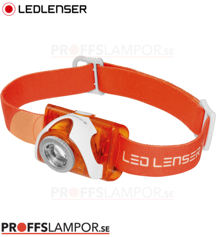 Pannlampa Ledlenser SEO3 Orange
