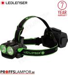 Pannlampa Ledlenser XEO 19R svart / grön