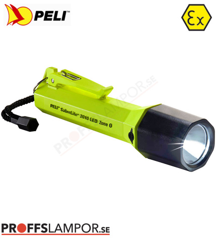 Ficklampa Peli SabreLite 2010 LED Zone 0