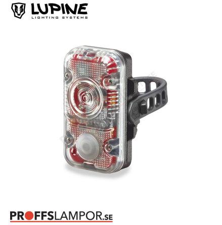 Cykellampa Lupine Rotlicht