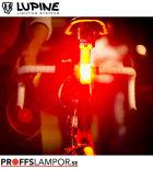 Cykellampa Lupine Rotlicht Röd
