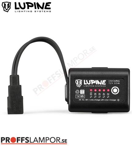 Tillbehör Batteri Lupine SmartCore Batteri 2.0 Ah Fast-Click-System