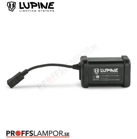 Tillbehör Batteri Lupine Hardcase 6.6 Ah