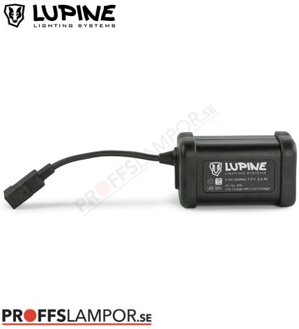 Tillbehör Batteri Lupine Hardcase 6.9 Ah