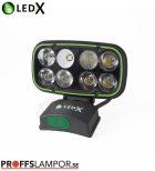Hjälmlampa LEDX Cobra 6500