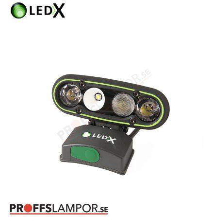 Hjälmlampa LEDX Mamba 4000