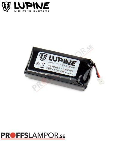 Tillbehör Batteri Lupine Rotlicht