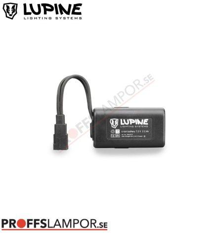 Tillbehör Batteri Lupine HardCase 2.2 Ah Fast-Click-System