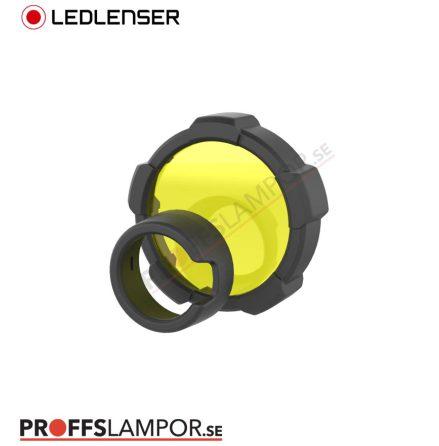 Tillbehör Ledlenser färgfilter gul 85,5 mm