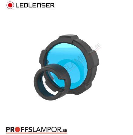 Tillbehör Ledlenser färgfilter blå 85,5 mm