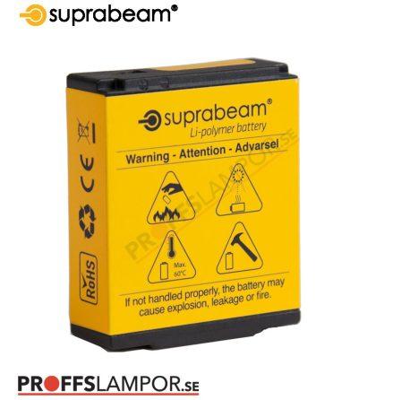Tillbehör Batteri Suprabeam 2800 mAh, 10.36 Wh / 3.7 V