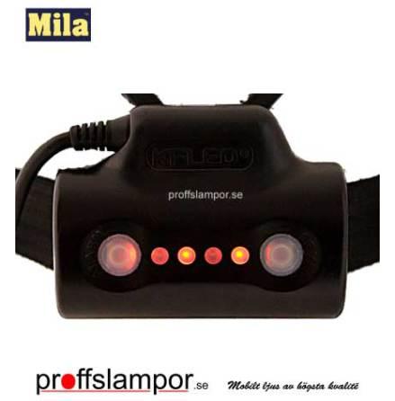 Tillbehör nackbatteri Mila 3,7V 4,4Ah