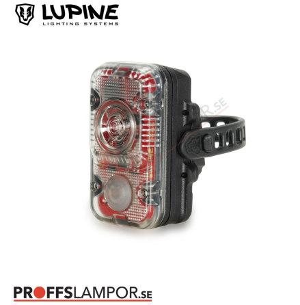Cykellampa Lupine Rotlicht Max