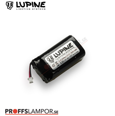 Tillbehör Batteri Lupine Rotlicht MAX