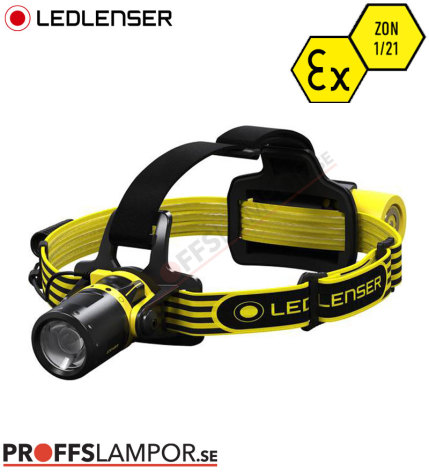 Pannlampa Ledlenser EXH8R