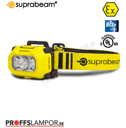 Pannlampa Superbeam ATEX AH3