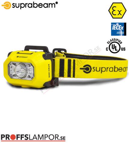 Pannlampa Superbeam ATEX AH3