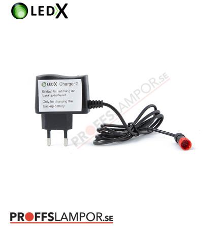 Tillbehör Automatladdare till LEDX backupbatteri