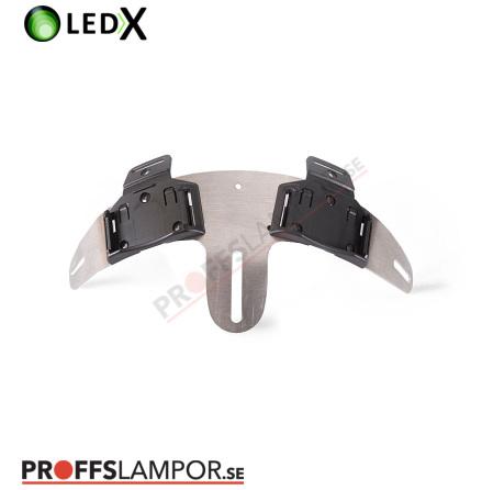 Tillbehör Hjälmbåge Enduro LEDX