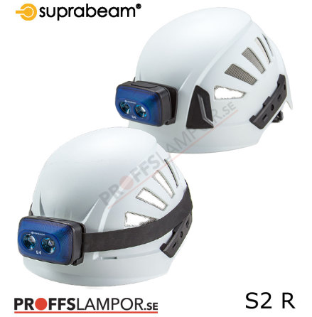 Hjälmlampa Suprabeam S2 rechargeable
