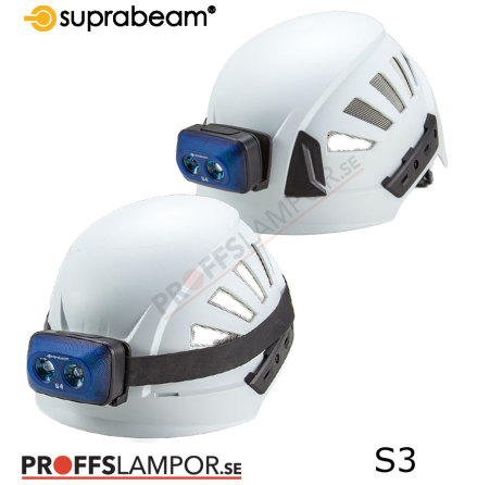 Hjälmlampa Suprabeam S3