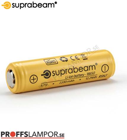 Tillbehör Batteri Suprabeam 18650