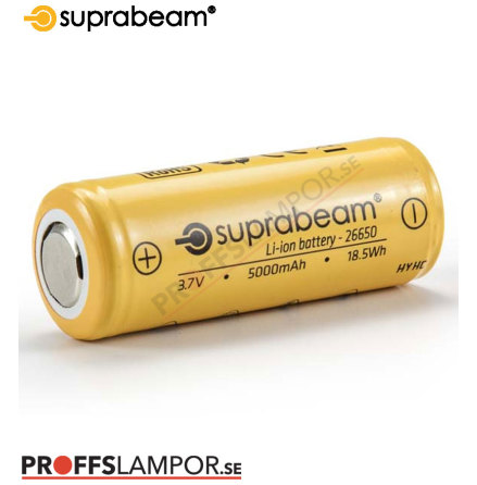 Tillbehör Batteri Suprabeam 26650