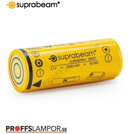Tillbehör Batteri Suprabeam 26650 5000 mAh