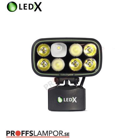 Hjälmlampa LEDX Cobra 6500 X-pand 113Wh