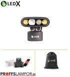 Hjälmlampa LEDX Mamba 4000 X-pand