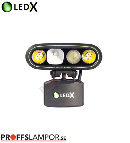 Hjälmlampa LEDX Mamba 4000 X-pand 113Wh