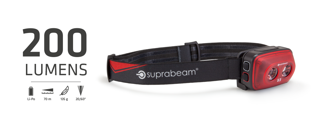 Suprabeam pannlampa S3 rechargeable