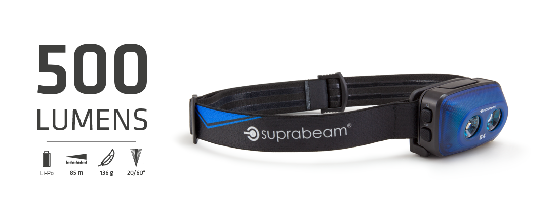Suprabeam pannlampa S4 rechargeable