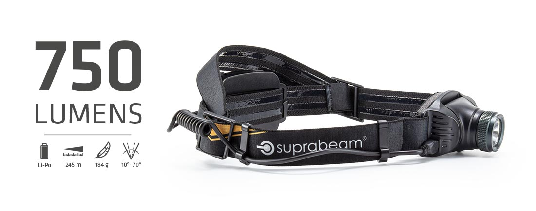 Suprabeam pannlampa V3pro rechargeable